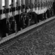 train on a track